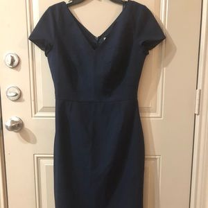 Banana Republic Navy Blue dress Sz 8